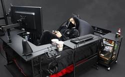 Công ty Nhật Bản ra mắt mẫu giường gaming độc đáo giúp người dùng vừa nằm vừa cày game thoải mái, giá từ 7 triệu đồng