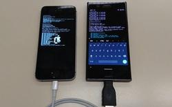 Dùng điện thoại Android để jailbreak iPhone