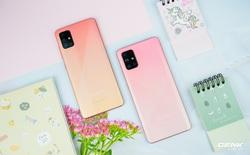 Ảnh thực tế Galaxy A51 và Galaxy A71 màu Hồng mới, quà dành cho chị em phụ nữ nhân ngày 8/3
