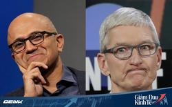 Covid-19 làm Apple điêu đứng, nhưng tại sao không quật ngã được Microsoft?