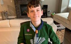 Cậu bé 12 tuổi và phát minh độc đáo giúp bác sĩ đeo khẩu trang không còn bị đau tai