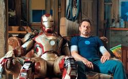 """Tony Stark trong đoạn cuối Iron Man 3 là giả, do công nghệ CGI tạo ra để thay cho """"bản gốc"""" đang tạm nghỉ vì gãy chân"""