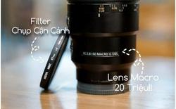 """Dùng thử filter chụp cận cảnh giá chỉ vài trăm nghìn đồng cho máy ảnh, sẽ ra sao nếu so với ống kính macro """"xịn sò"""" giá tới 20 triệu?"""