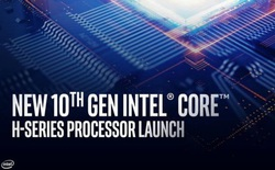 Intel giới thiệu loạt chip H-series mới cho laptop, xung nhịp cao vượt ngưỡng 5.0GHz