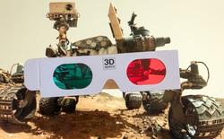 Sáng tạo khi làm việc tại nhà: kỹ sư NASA dùng kính 3D 2 màu xanh, đỏ để điều khiển robot thám hiểm Sao Hỏa
