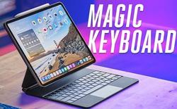 iPad Pro kết hợp bàn phím Magic Keyboard mới nặng hơn cả một chiếc MacBook Air 13 inch
