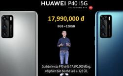Huawei P40 và P40 Pro chính thức bán ra tại Việt Nam: giá từ 17,9 triệu đồng, 9/5 lên kệ