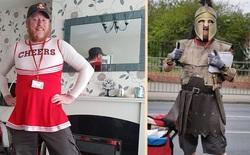 Anh thủ thư mỗi ngày cosplay thành một nhân vật khác nhau để cổ vũ tinh thần cho người dân đang tự cách ly tại nhà