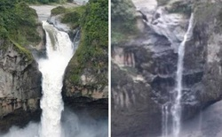 Hố tử thần bí ẩn nuốt chửng thác nước lớn nhất Ecuador