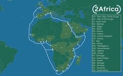Không sợ 'cá mập cắn', Facebook sẽ đặt cáp quang biển bao quanh châu Phi