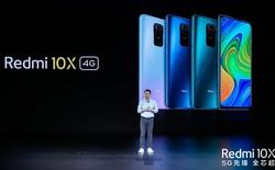 Redmi 10X 4G ra mắt: Helio G85, cụm 4 camera chính, pin 5020mAh, giá chỉ từ 3.2 triệu đồng
