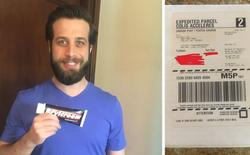 Đặt mua tuýp kem tạo kiểu tóc trên mạng xong quên luôn, 8 năm sau anh chàng nhận được gói hàng từ shipper và cái kết cười đau ruột