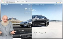 Hãng xe điện Trung Quốc bị bắt quả tang sao chép website của Tesla