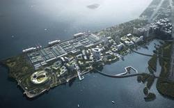 """Dự án """"thành phố tương lai"""" của ông lớn công nghệ Tencent: rộng 2 km vuông, không bóng ô tô, tận dụng phương tiện tự hành"""