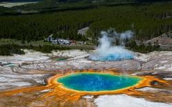 Liên tục diễn ra 11 trận động đất tại Công viên Quốc gia Yellowstone