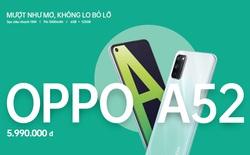 """OPPO A52 ra mắt tại VN: Màn hình """"chấm O"""" mới, cụm 4 camera AI, pin 5000mAh, giá 5.99 triệu đồng"""