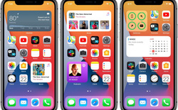 Tính năng widget mới của iOS 14 rất giống với Android
