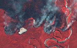 Siberia đỏ lửa và cảnh báo từ Bắc Cực