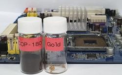 Tìm ra loại polymer có thể chiết xuất vàng và bạch kim từ bảng mạch điện tử