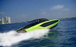 Lamborghini thiết kế du thuyền trông như siêu xe, giá 3,4 triệu USD