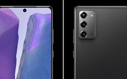 Galaxy Note20 lộ thiết kế chi tiết: Màn hình phẳng, camera cắt giảm