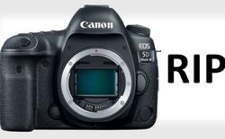 Canon có thể đã khai tử dòng máy ảnh 5D 'huyền thoại': Ngày tàn của DSLR đã tới?