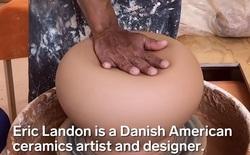 Mời bạn xem anh nghệ nhân gốm tự tay phá hủy sản phẩm của mình theo những cách cực sáng tạo, không có gì đặc biệt nhưng mãn nhãn lạ thường
