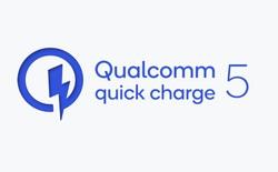 Qualcomm ra mắt Quick Charge 5: Công suất hơn 100W, từ 0 lên 50% trong 5 phút, sạc đầy pin chỉ trong 15 phút