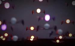 """Sử dụng """"vũ công"""" là 200 chiếc drone, màn trình diễn ánh sáng lập kỷ lục thế giới mới"""