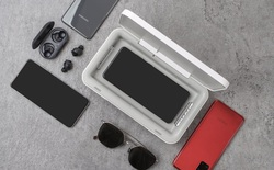 Samsung ra máy máy khử trùng UV cho smartphone kiêm sạc dự phòng, giá 1.2 triệu đồng