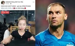 Fanpage cựu sao Ngoại hạng Anh bất ngờ bị hacker Việt chiếm quyền quản trị để livestream bán quần áo