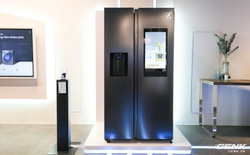 Samsung ra mắt tủ lạnh thông minh đầu tiên tại Việt Nam: lướt web, nghe nhạc, nhắn tin ngay trên cửa tủ, tự chụp ảnh mỗi lần đóng, giá gần 47 triệu