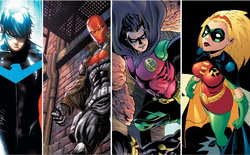 """Tìm hiểu về các phiên bản của Robin, """"cậu nhóc"""" (và có cả cô nhóc) trợ thủ đắc lực của Batman"""