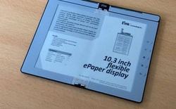 E Ink tiết lộ nguyên mẫu máy đọc sách số gập lại được như một cuốn sách thực thụ