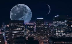 Điều gì sẽ xảy ra với loài người nếu Trái Đất có tới hai Mặt Trăng?