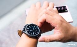 Mở hộp Galaxy Watch3 mặt 45mm: Thiết kế thanh lịch hơn, trang bị khả năng đo nồng độ oxy trong máu, có hơn 120 bài tập tại nhà, bản GPS giá từ 9,99 triệu đồng