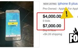 iPhone, iPad cài sẵn Fortnite được rao bán với giá lên tới hàng trăm triệu đồng