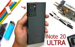 Tra tấn Samsung Galaxy Note20 Ultra bằng các thử nghiệm của JerryRigEverything