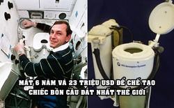 Bồn cầu đắt nhất thế giới trị giá 23 triệu USD: Nơi giải quyết 'nỗi buồn' của các phi hành gia NASA trên vũ trụ