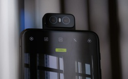 Asus Zenfone 7 lộ ảnh thực tế với cụm 3 camera xoay lật, cảm biến vân tay dưới màn hình