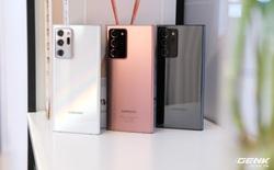 Trên tay Galaxy Note20/Note20 Ultra vừa ra mắt: Một cứng cáp, một mềm mại, màu đẹp xuất sắc, hợp cả nữ lẫn nam