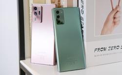 Galaxy Note20 có giá chính thức từ 23.9 đến 32.9 triệu đồng tại Việt Nam