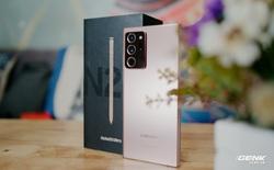 Mở hộp Galaxy Note20 Ultra 5G chính hãng giá 32,99 triệu đồng