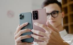 So sánh nhanh Galaxy Note20 Ultra với iPhone 11 Pro Max: Một chín một mười?