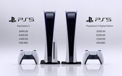 Sony PlayStation 5 sẽ có giá từ 399,99 USD, ra mắt vào ngày 12 tháng 11