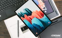 Cận cảnh Galaxy Tab S7+ : thiết kế sang trọng, màn hình 12.4 inch 120Hz, Snapdragon 865+, giá 24 triệu đồng
