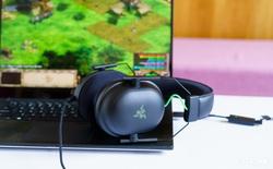 """Mở hộp và trải nghiệm nhanh bộ đôi tai nghe Razer BlackShark V2 series: Có cả soundcard đi kèm, driver TriForce Titanium 50mm, dáng vẻ hơi """"đô con"""" nên không tiện mang đi muôn nơi"""
