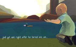 Người cha làm game về ranh giới của sự sống tặng con trai bị ung thư