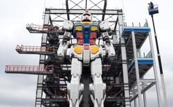 Nhật Bản thử nghiệm thành công robot Gundam cao 18m có thể di chuyển và cử động như người