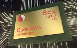 Qualcomm ra mắt Snapdragon 8cx Gen 2 5G mới, đối đầu trực tiếp với Core i5 Gen 10th của Intel